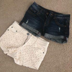Pants - Booty shorts pair